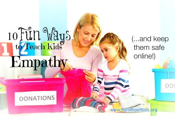 10 Fun Ways to Teach Kids Empathy