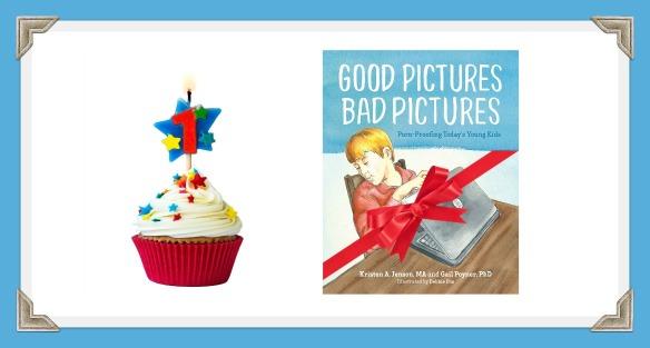 GPBP birthday cupcake