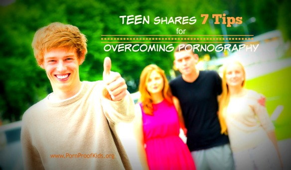 Boy Showing Thumbs Up with Friends on Background
